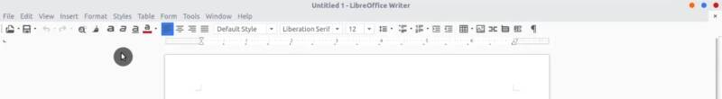 LibreOffice with Sifr icon style