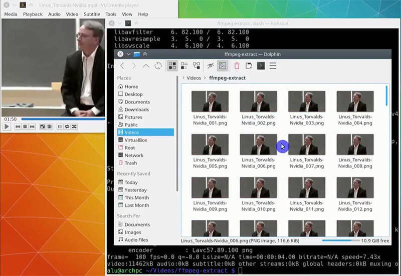 Convert video to images with FFmpeg in Linux | Average Linux User