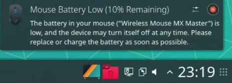 My wireless mouse works perfectly on Manjaro