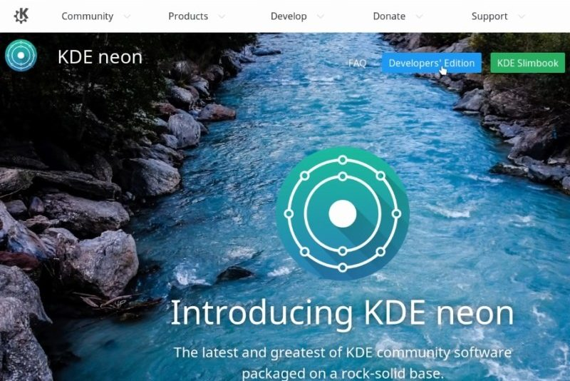 KDE Neon Developer's edition
