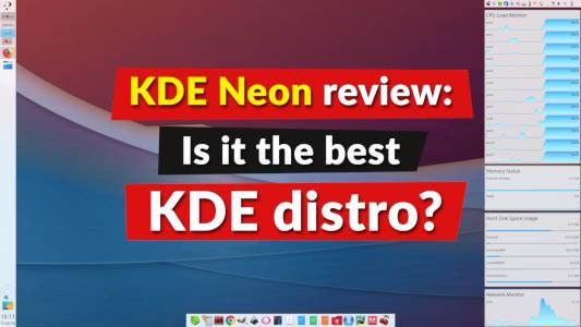 KDE Neon Review | Average Linux User