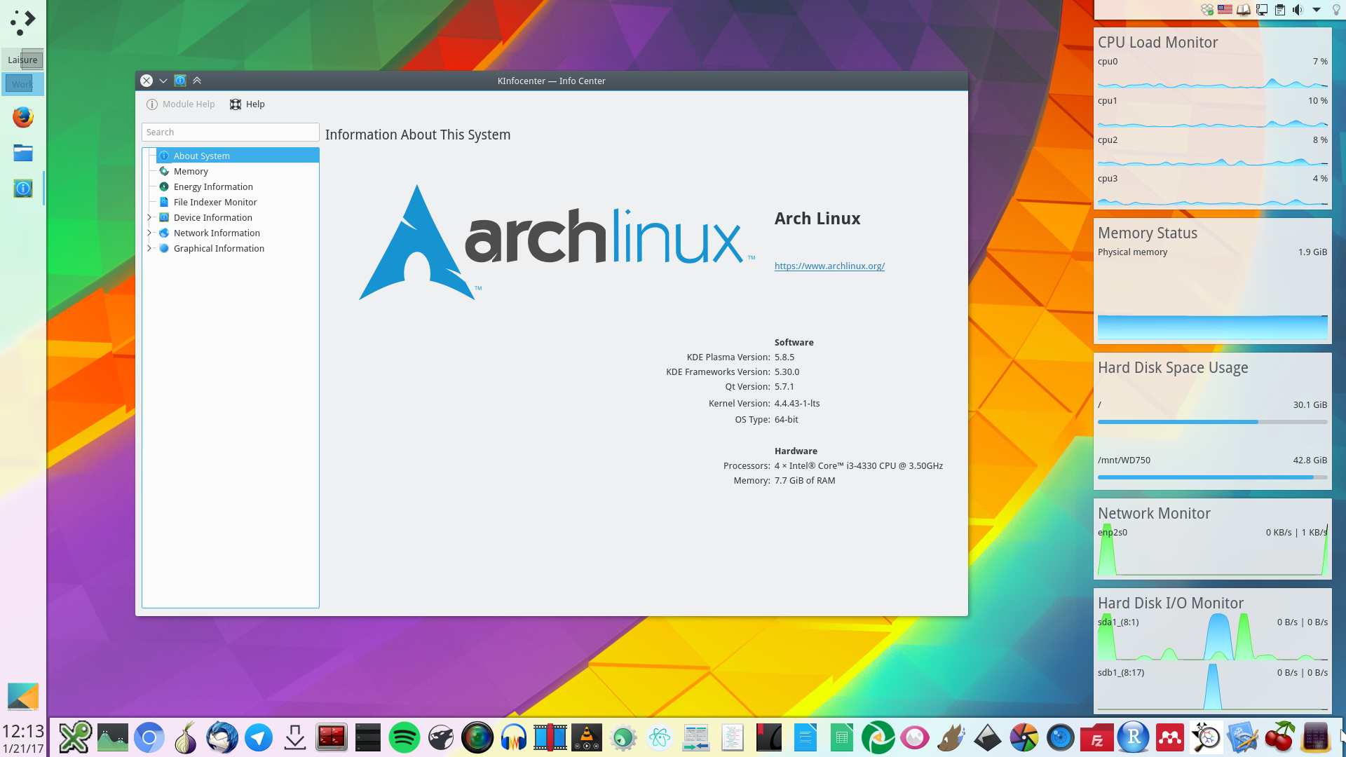 Plasma 5 on Arch Linux – Install and Configure | Average