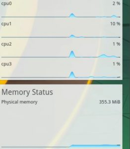 My Plasma uses less than 500 mb of RAM