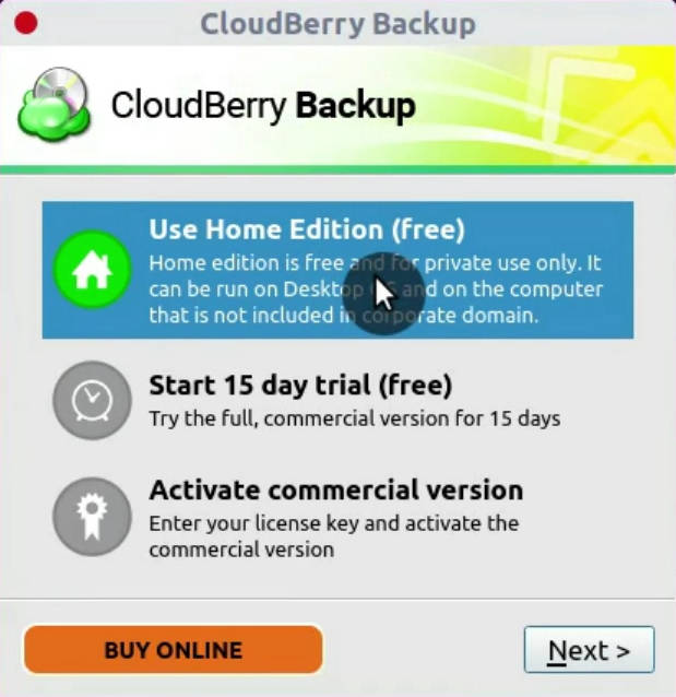 Cloudberry backup free for personal use