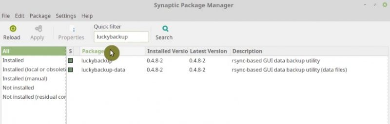 You can install luckybackup using synaptic