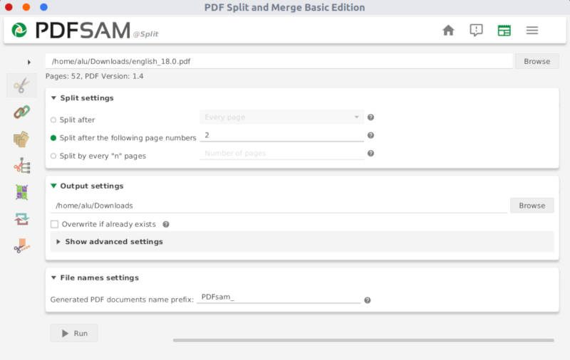 Edit PDF in Linux (split, merge, extract, rotate) | Average