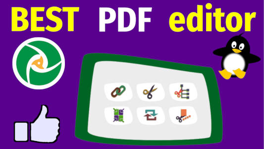 Edit PDF in Linux (split, merge, extract, rotate)   Average Linux User