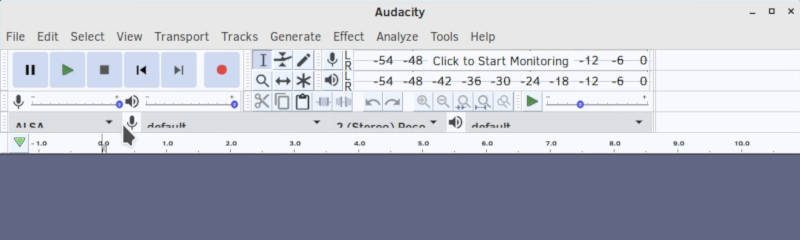 Audacity in Solus 4 Budgie with Plata-Lumine-Compact theme