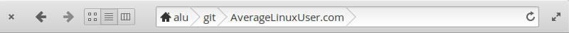elementary OS default title bar buttons