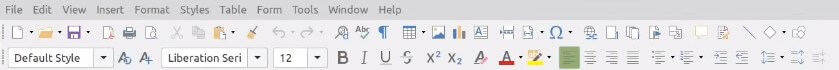 LibreOffice with Microsoft's office like colibre icons.