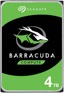 Seagate Barracuda 4TB 5400RPM HDD